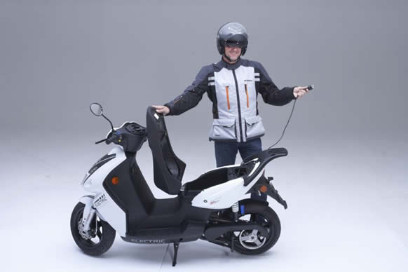 Scooter elettrico GO-S3.4